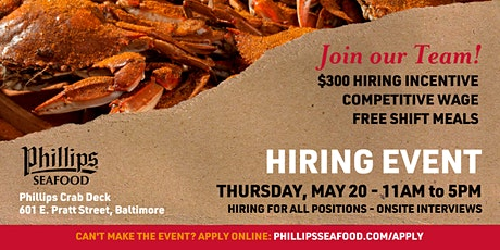Hiring Event - Join Our Team tickets