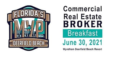 Commercial Real Estate Broker Breakfast tickets