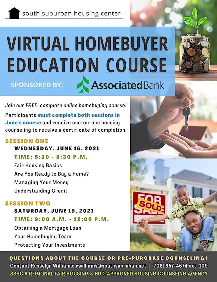 June Virtual Homebuyer Education Course image