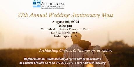 Annual  Wedding Anniversary Mass tickets