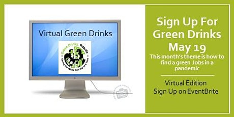 May Green Drinks 2021 - See ticket confirmation for login in details tickets