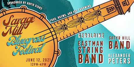 Savage Mill Bluegrass Festival tickets