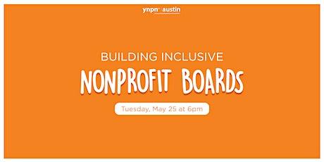 Building Inclusive Nonprofit Boards tickets