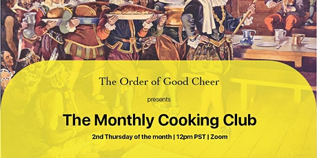 OOGC Monthly Cooking Club tickets