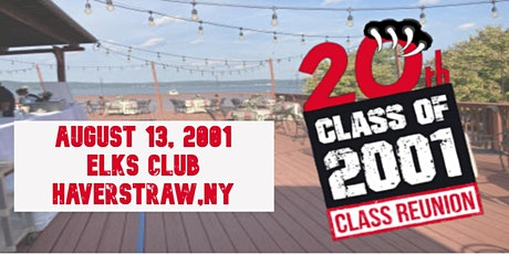 North Rockland High School Class of 2001 20th Reunion tickets