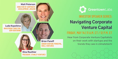 Investor Speaker Series: Navigating Corporate Venture Capital tickets