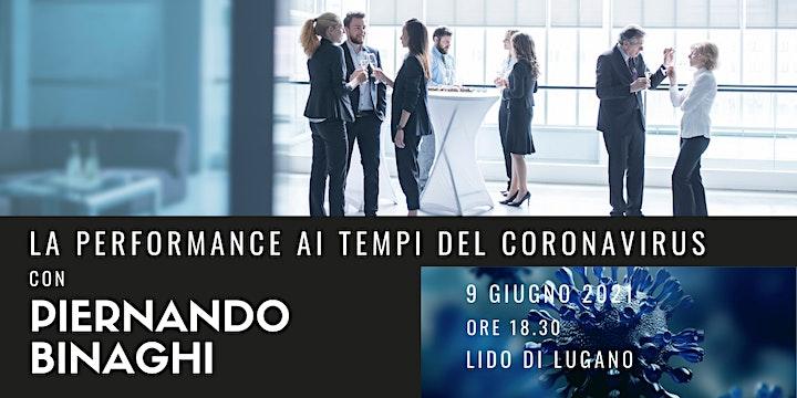 Immagine La performance ai tempi del Coronavirus con Piernando Binaghi