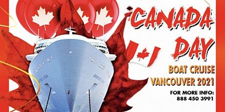 Canada Day Boat Cruise Vancouver 2021 tickets