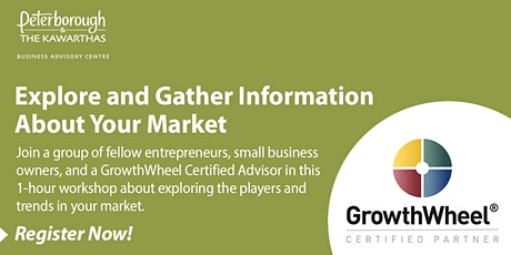 Explore and gather information about your market: A GrowthWheel® Workshop tickets