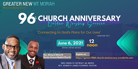 96th Church Anniversary Outdoor Service tickets
