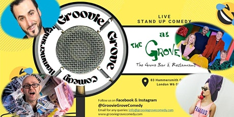 Hammersmith Groovie Grove Comedy EARLY SHOW tickets
