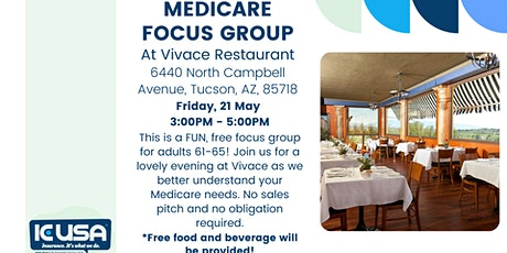 Insurance Connection USA:  Medicare Focus Group tickets