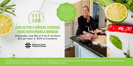 Virtual Cooking Demo with Pamela Berman tickets