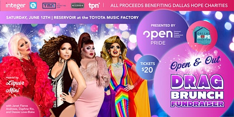 OPEN and Out Drag Brunch Fundraiser tickets