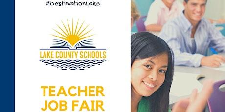 Lake County Schools Teacher Hiring Event (Online) tickets