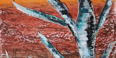 Creating Landscape Collage with Oil Pastels & Acrylic, All ages are welcome biglietti