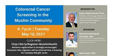 Colorectal Cancer Screening in the Muslim Community tickets