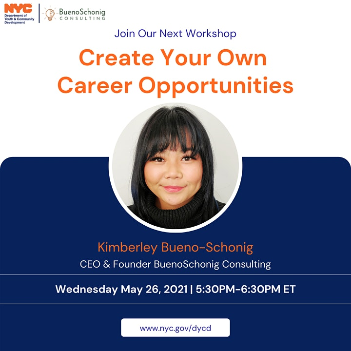 DYCD & BSC: Create Your Own Career Opportunities image