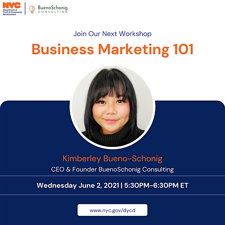 DYCD & BSC: Business Marketing 101 image