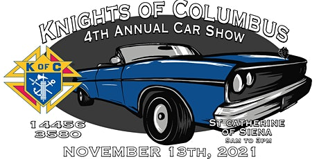 Knights of Columbus 4th Annual CAR SHOW tickets