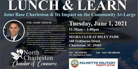 June Lunch & Learn: Joint Base Charleston Leadership tickets