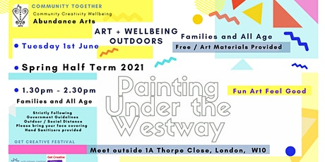 Art & Painting Outdoors -  Community Wellbeing -  Get Creative Festival tickets