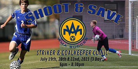 Shoot and Save Soccer Clinic tickets