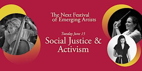 Next Festival 2021: Social Justice & Activism, June 15 tickets