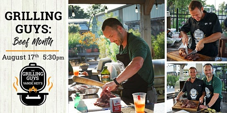 Grilling Guys: Beef Month tickets