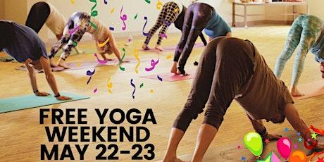 Studio Grand Opening Free Yoga Weekend tickets