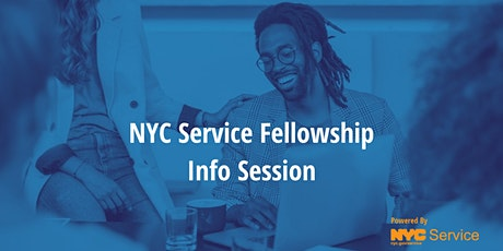 2021-2022 NYC Service Fellowship Info Session tickets