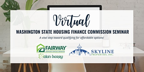 Washington State Housing Finance Commission Seminar tickets