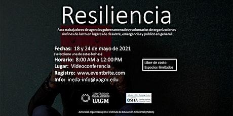 Resiliencia para Trabajadores en Lugares de Desastre entradas