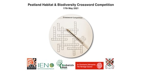 Peatland Habitat & Biodiversity Crossword Competition tickets