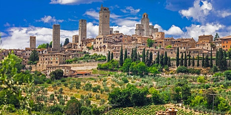 SAN GIMIGNANO - ONLINE LIVE TOUR Sunday July 18th at 10am tickets