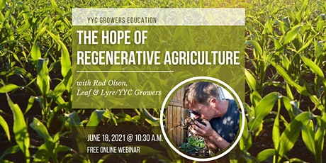 The Hope Of Regenerative Agriculture tickets