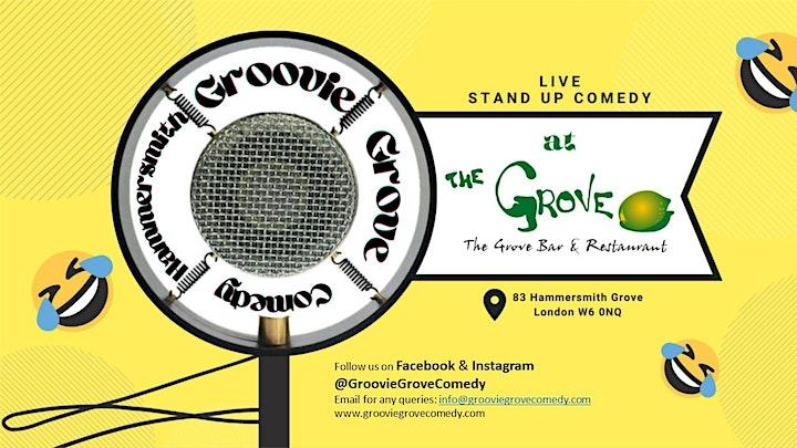 Hammersmith GroovieGrove Comedy image
