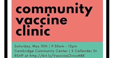 Community Vaccine Clinic tickets