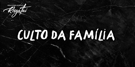 Culto da Família - Dia das Mães ingressos