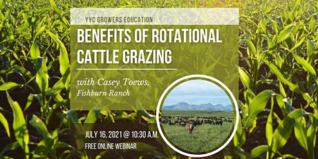 Benefits of Rotational Cattle Grazing tickets