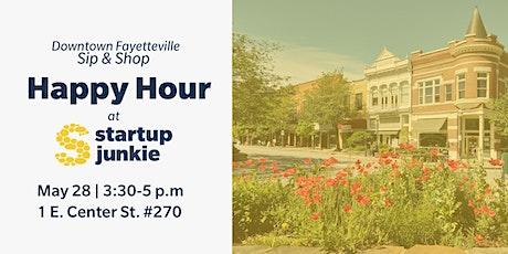 Sip & Shop: Startup Junkie Happy Hour tickets