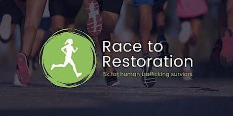 RACE TO RESTORATION 5K For Human Trafficking Survivors tickets