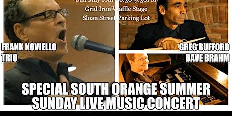 Frank Noviello Trio w Greg Bufford and Dave Brahm   Summer Saturday tickets