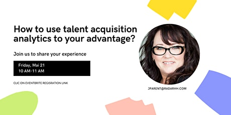 How to use talent acquisition analytics to your advantage? entradas