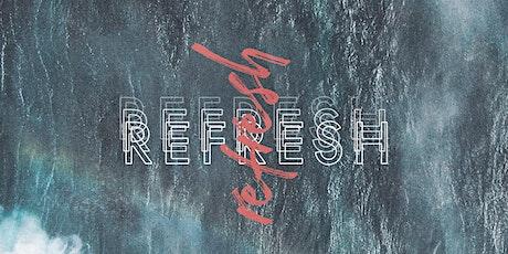 REFRESH | 21 Maio 2021 bilhetes