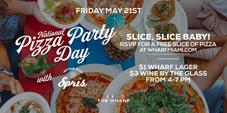 National Pizza Party Day Celebration at The Wharf Miami tickets