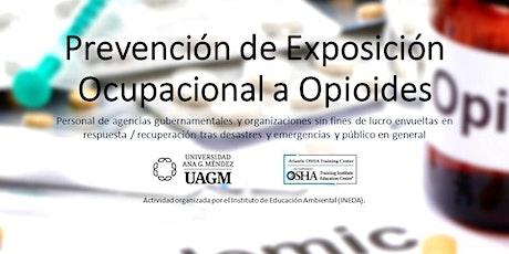 Prevención de Exposición Ocupacional a Opioides entradas