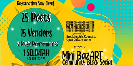Mini BazART Block Party DUMBO tickets