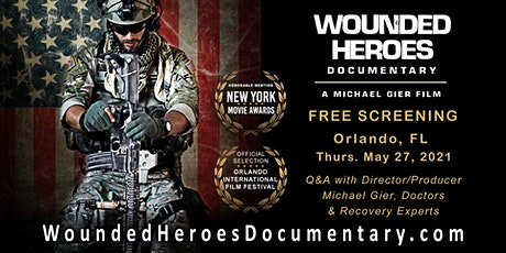 """""""Wounded Heroes"""" Documentary Screening tickets"""