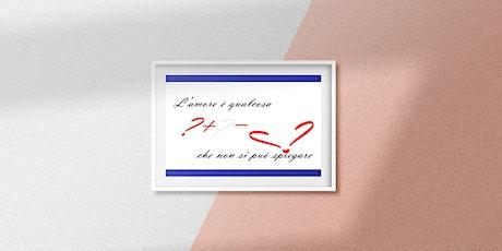 Tavola rotonda – DDL ZAN Amore in Mostra biglietti